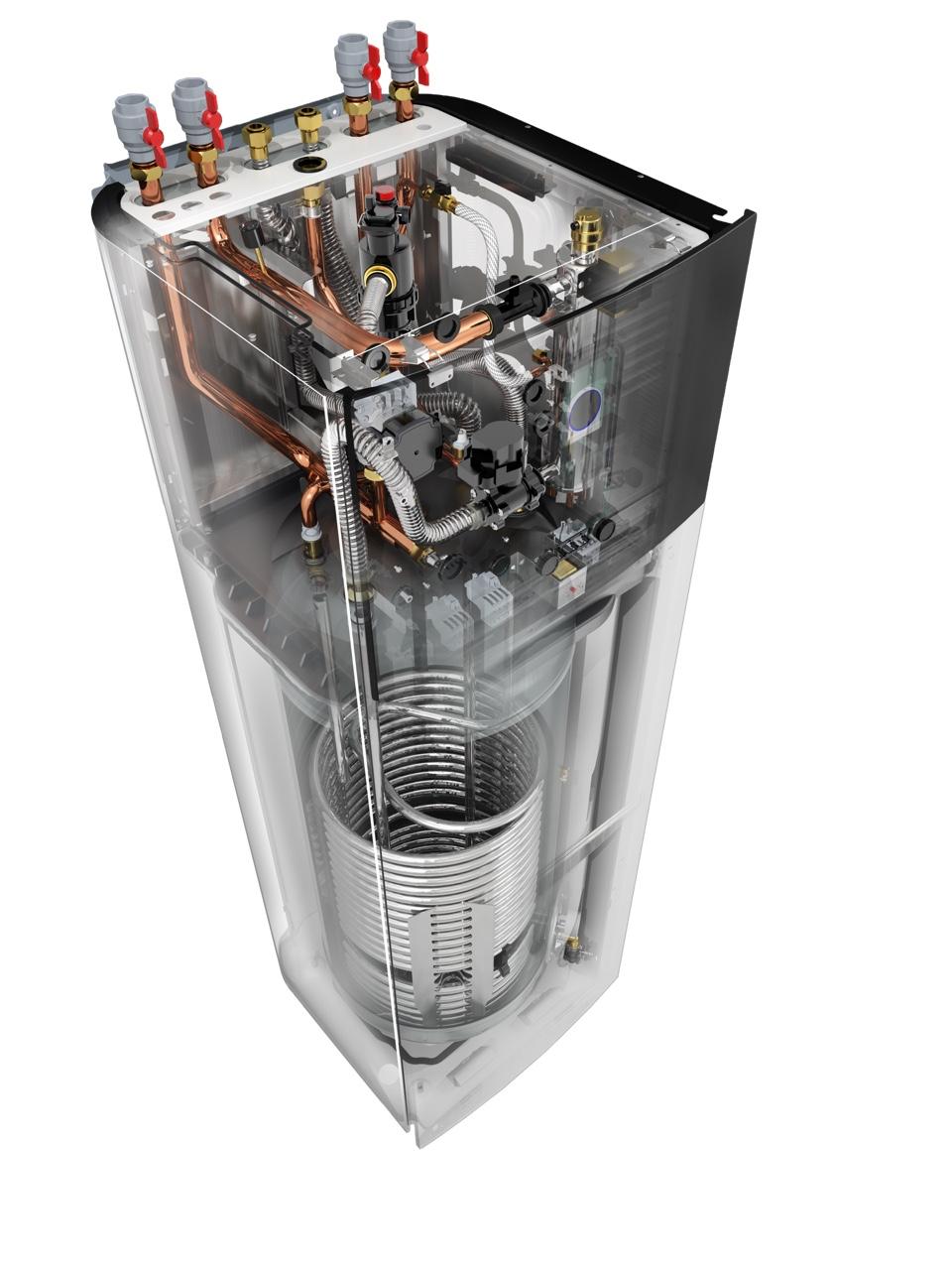 Pompa ciepła Altherma 3H przekrój